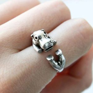 Jewelry - Cute Hippo Wrap Ring
